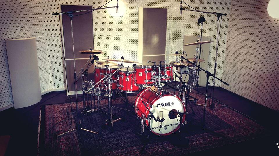 DeLücks Blues Band im Studio